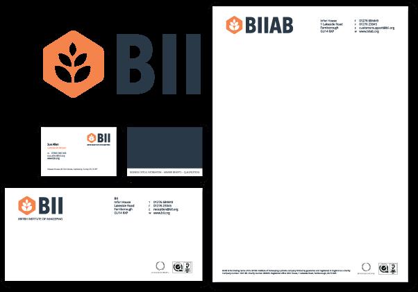 Branding for the BII (British Institute of Inkeeping)