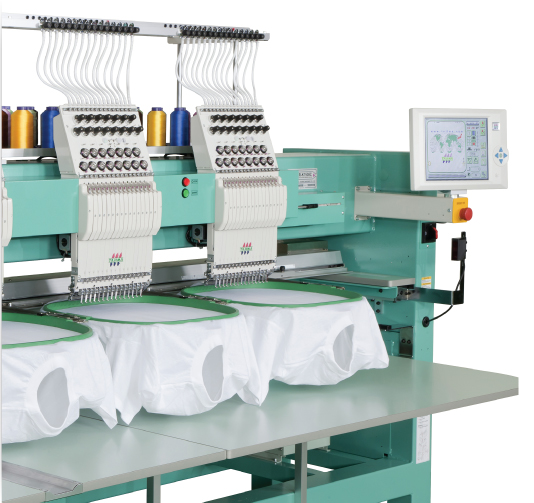 15 Colour Multi-Head Tajima Embroidery Machine