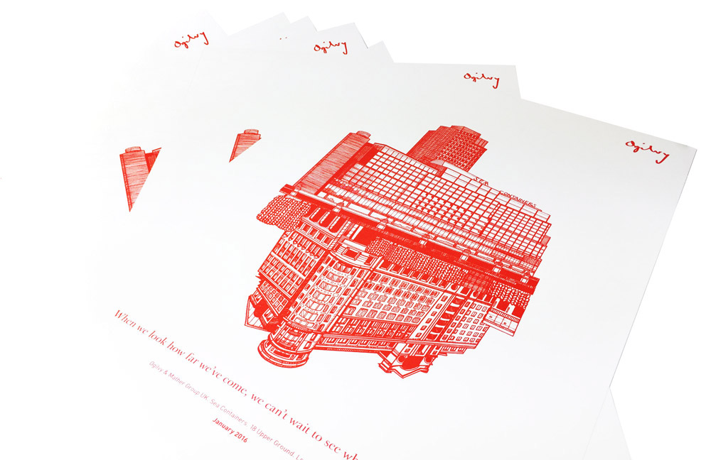 Printed Posters by Vektor