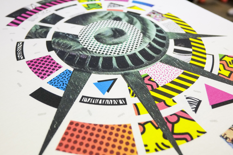 4 Colour Process Screen Printing