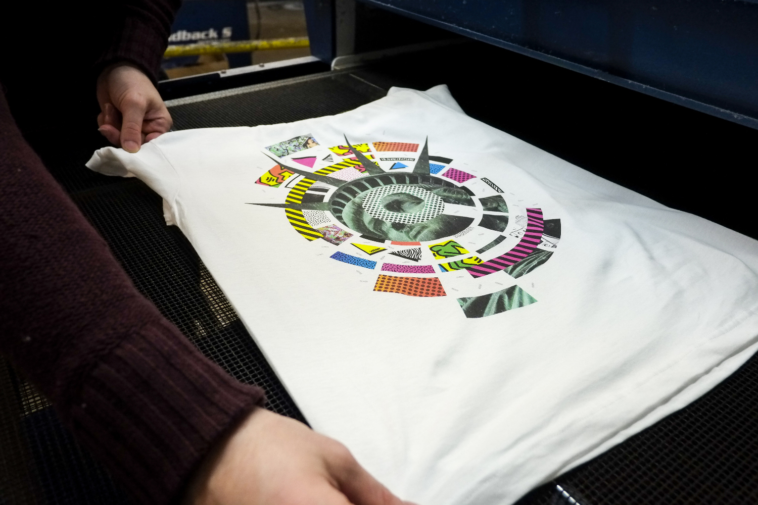 FESPA Award Winning CMYK T-Shirt Print