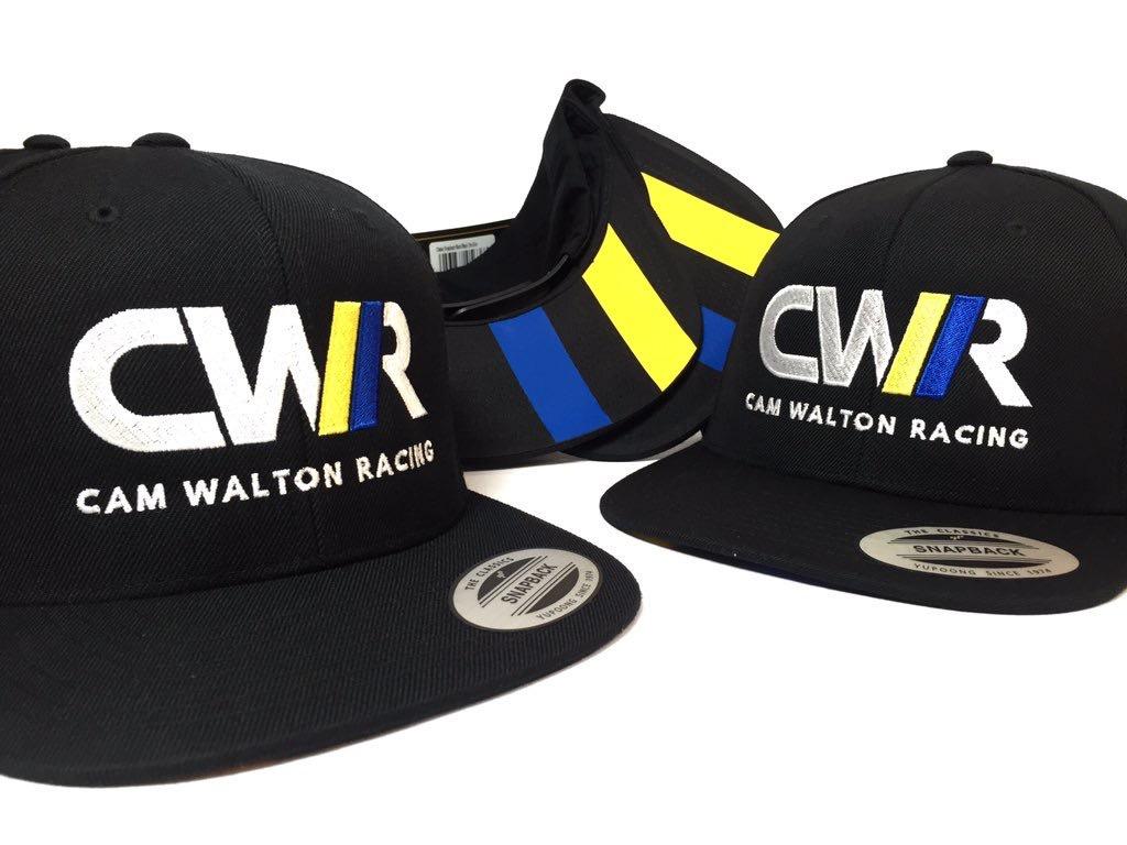... Cap embroidery for Cam Walton Racing ... 1e458260972
