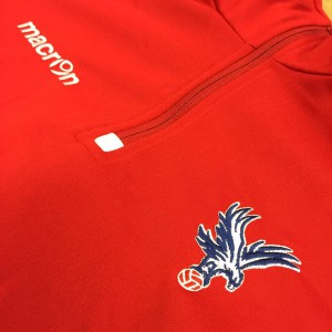 Embroidery for Crystal Palace FC