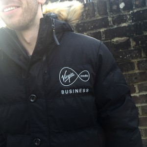 Virgin Media Jacket Embroidery