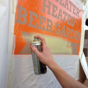 Outdoor signage for The Craft Beer Co