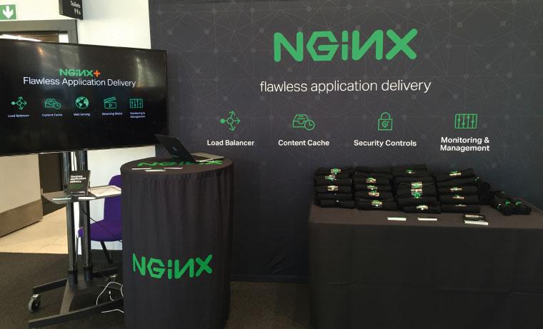 NGINX Exhibition Stand