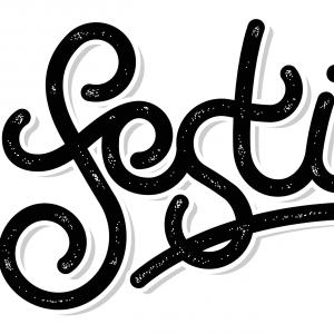 Custom 'Festival' Typography