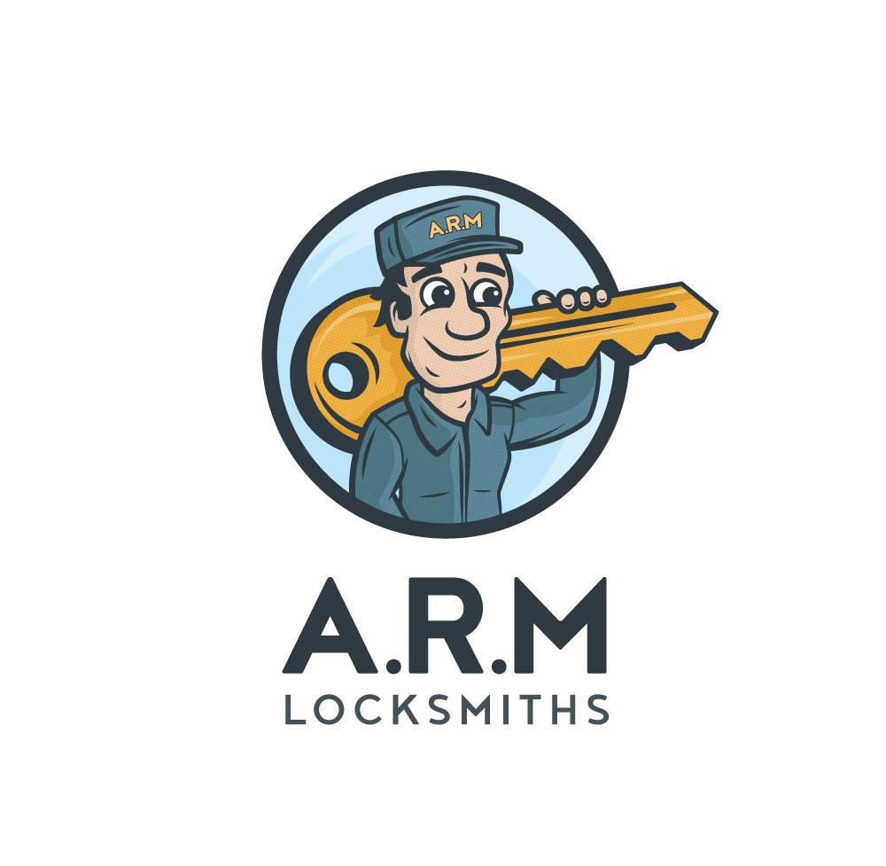 A.R.M Loacksmiths Logo Design