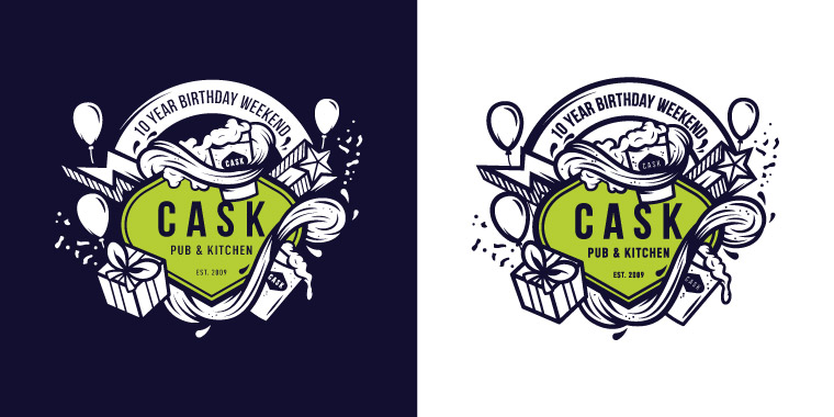 Craft Beer Design Illustration
