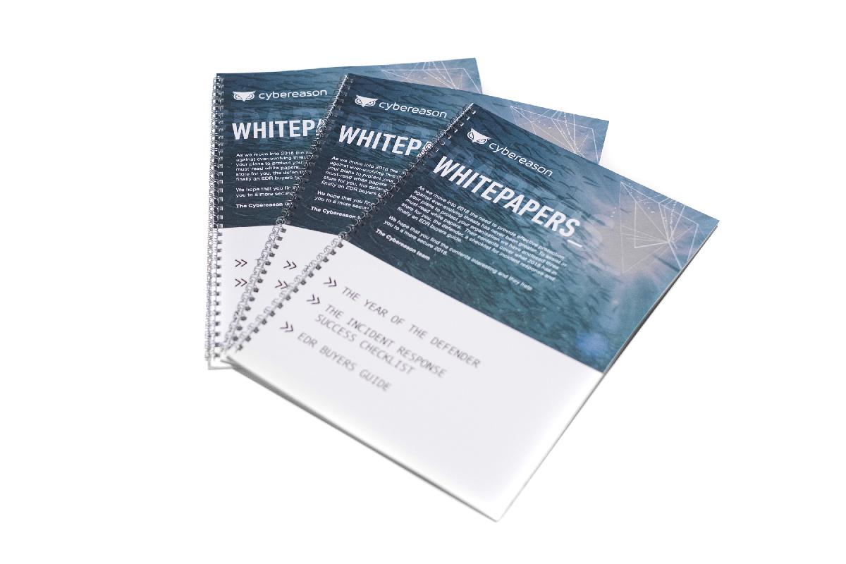 Cybereason Whitepaper Printing