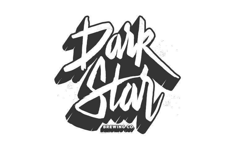 Dark Star Typography T-Shirt Design