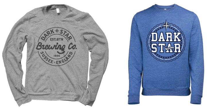Dark Star - Screen Printed Jumper Designs