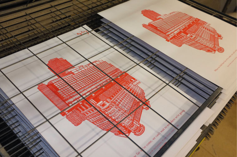 Print Drying Process