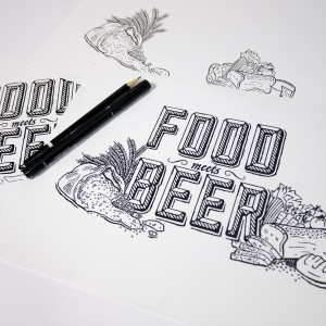 Food Meets Beer Event Branding