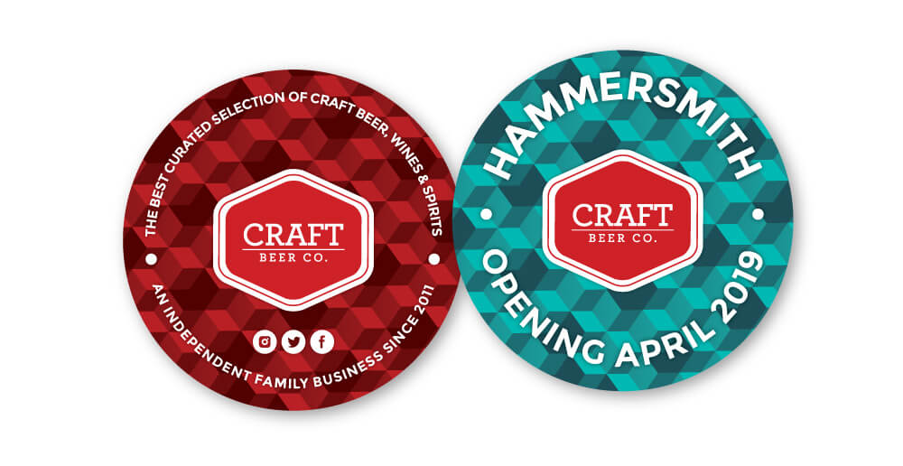 The Craft Beer Co. Beer Coasters