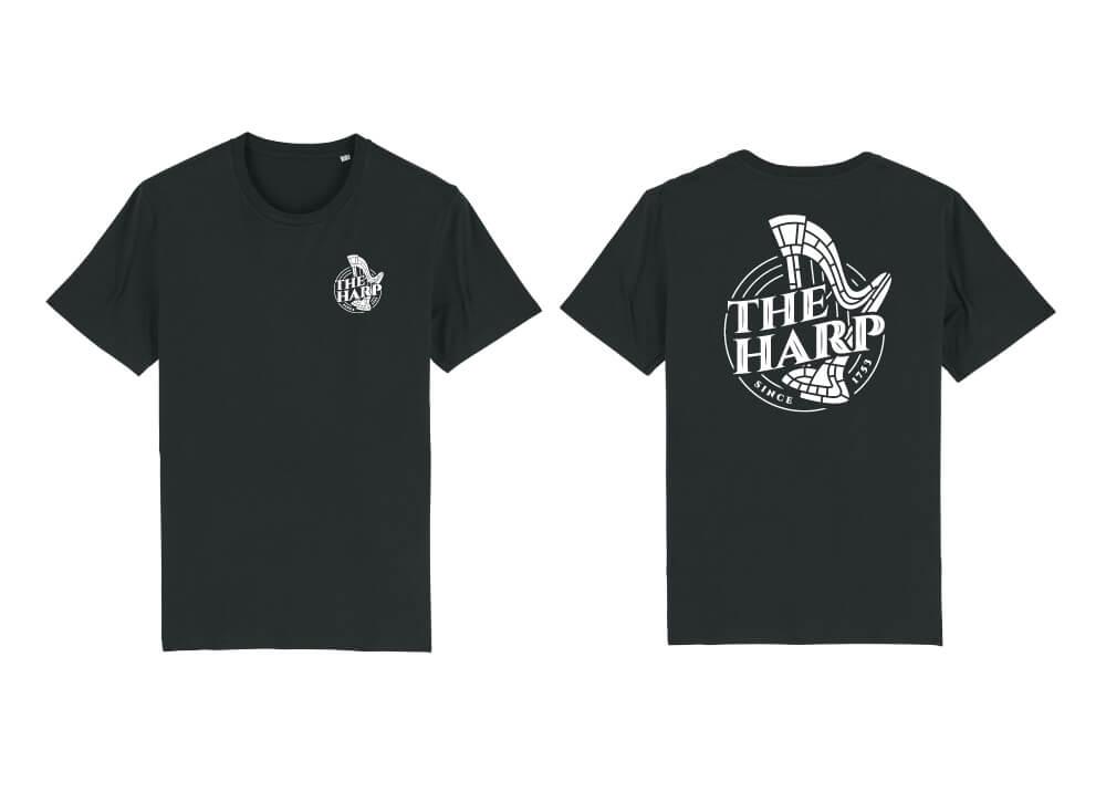 The Harp Pub T-Shirt Design